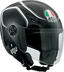 AGV ADULT Blade Tab Black/White Motorcycle Helmet S-XL