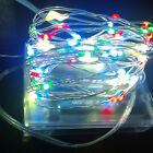 3M Battery Powered Copper Wire 30 Led String Fairy Light Warm White Colorful