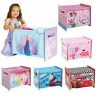 COSYTIME WORLDS APART TOY BOXES KIDS BEDROOM STORAGE DISNEY FROZEN PRINCESS