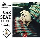 Universal Car Seat Cover Pet Dog Waterproof Heavy Duty Rear Dirt Protection New