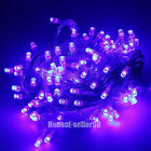 Purple 10/20/30M 100/200/300 LED String AA Battey Fairy Lights Christmas Wedding