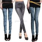 Ladies Denim Jeans Sexy Skinny Leggings Jegging Tights Stretch Pants Trousers