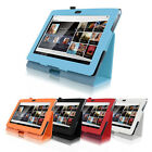 """Newest Magnetic Folio PU Leather Stand Case Cover for 9.4"""" Sony Xperia Tablet S"""