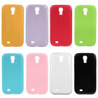 Glitter Sparkle TPU Jelly Color Back Case Cover for Samsung Galaxy S4 SIV i9500