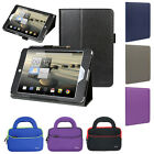 """Slim Folio Leather Stand Case+Handle Bag For Acer Iconia A1-830 7.9"""" Tablet"""