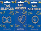 ANY STYLE - PET DOG TAG SILENCER - GLOWS IN DARK