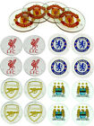 Premier League Football: Glass Drink Coaster Set -  Liverpool/Man Utd/Arsenal