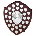 The Multi Sport 28 Year Annual Wooden Shield Award Trophy, Personalised Engraved