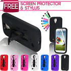Heavy Duty Armour Shock Proof Stand Case Cover For Samsung Galaxy S4 I9500