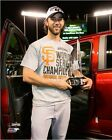 Madison Bumgarner San Francisco Giants 2014 World Series MVP Trophy Photo