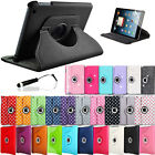 Leather 360 Degree Rotating Case Cover Stand For iPad Mini Tablet
