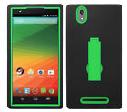 KickStand Hybrid Armor Case Phone Cover Accessory for ZTE ZMAX Z970