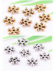 wholesale 110/370Pcs Silver Plated Spacer Beads 7mm (Lead-Free)