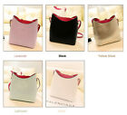 New Womens Shoulder Bag Faux Leather Satchel Cross Body Messager Handbag 5 Color