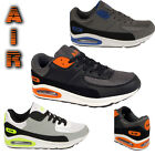 MENS SPORTS SHOES RUNNING TRAINERS GYM WORKOUT BOYS LACE UP GRIP AIR SHOES SIZE
