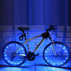 2M/20LED Motorcycle Cycling Bike Bicycle Wheels Spoke Flash Light Lamp Trendy