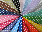POLKA DOT BIAS BINDING Per Metre or Reel 18mm Wide (27 Yard Roll) Spot Spotty