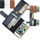 Card Holder Flip Wallet Leather Case Cover For Apple iPhone 6 Plus 6 5s 5c 4s 4