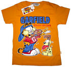 GARFIELD ODIE short sleeve cotton summer t-shirt Sz 6,8,10,12 Age 3-8y Free Ship