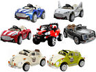 12V RIDE ON CAR OPEN TOP KIDS MASERATI GRAND TOURER BEETLE JEEP TWIN 6V BATTERY