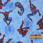 Spiderman Fleece Fabric - Various Patterns and Various Sizes - NEW