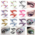 Colorful Temporary Eye Rock Tattoo Eyeliner Sticker&Eye shadow Sticker Makeup