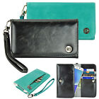 caseen Bella Women's Phablet Smart Cell Phone Purse Wallet Wristlet Strap Case