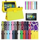 "for All-New Kindle Fire HD 7""2nd Gen 2013 Newest PU Folio Leather Case Cover"