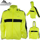 Men Cycling Winter Jacket Waterproof Rain Snow Sports Running Training Hood Coat