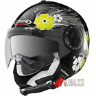 Caberg V2+ DIVA Open Face DVS Motorcycle Motorbike Crash Helmet Black/White