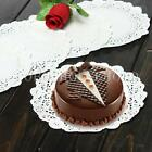 "10/50/100  7.5"" Cake Paper Doilies Wedding Party Decoration Round Lace Cupcake"