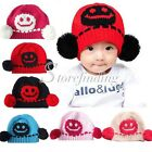 Baby Girls Boys Kids Slouch Baggy Cute Soft Knitting Wool Warm Lovely Hats