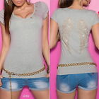 Women's Angel Wing Short Sleeve Top with Bows  - S/M, M/L
