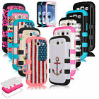 Shockproof Hybrid Best Impact Rugged Hard Case Cover for Samsung Galaxy S3 i9300