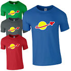 LEGO CLASSIC SPACE T-SHIRT Retro Sheldon Cooper Fun Adults & Kids Cool Logo Top