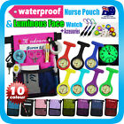 "Nurse Pouch+FOB Luminous Watch ""Extra Pocket""+Waist Strap Organizer Pick Bag"