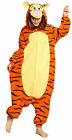 Adult Kigurumi Pajamas Anime Onesie Cosplay Costume Hoodies Dress Tiger S M L XL