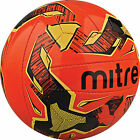 Mitre Malmo Training Football Size 3/4/5 - Yellow/White/Orange Outdoor Soccer