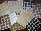 Self Adhesive Stick on Screw Hole Cap/Covers 13mm - Various Colours
