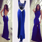Women Sexy Floral Prom Evening Gown Cocktail Party Bridesmaids Long Maxi Dress