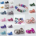 Mix Color Fimo Clay Crystal Rhinestone European Charms Bracelet Loose bead Gift