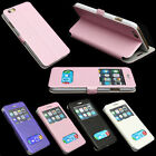 """APPLE iPhone 6 4.7"""" FLIP FRONT S-VIEW LUXURY LEATHER STAND CASE HOUSING COVER"""