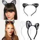 Fashion Lace Cat Ears Hairband Sexy Headband Cosplay Fancy Dress Costume Party