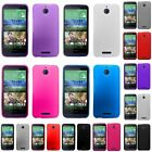 Color Soft Rubber TPU Gel Phone Skin Case Cover for HTC Desire 510
