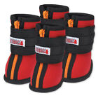 Kong HIGH TOP NEOPRENE DOG BOOTS Red or Blue TOUGH FOOTWEAR