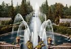 PC18 Vintage Photograph St Petersburg Peterhof Fountain Poster Re-Print A3/A4
