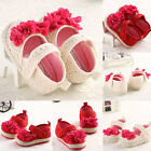 Casual Baby Girl Soft Sole Crib Shoes Toddler Sneaker Age 0-18 Month for Summer
