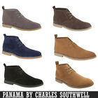 Mens Desert Boots Gent BRICKERS Shoes Faux suede Ankle Boots Trainers Chukka New