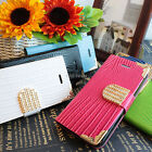 For LG Optimus L70 MS323 Crocodile Bling PU Leather Wallet Pouch Case Cover