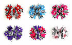 Boutique OTT Hairbows Zebra Rockstar w Bling Party Pageant NWT * U Pick Color